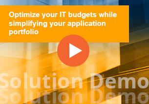 Optimize, Transforme y Gobierne su portafolio de aplicaciones con la solución pragmática y global de APM