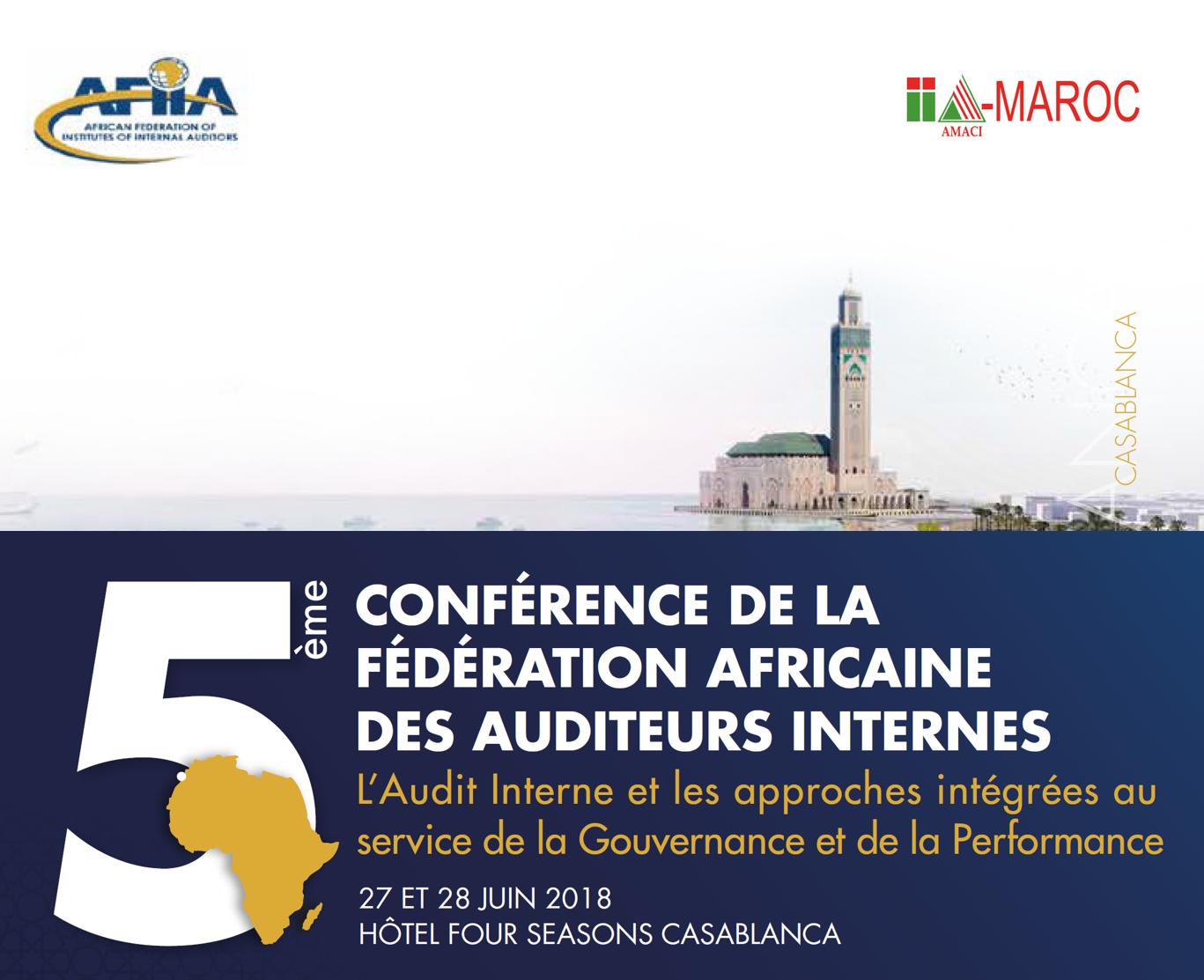 5ème Conférence de la Fédération Africaine des Auditeurs Internes