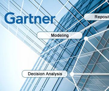 Evaluación de Gartner sobre las capacidades de las herramientas para Arquitectura Empresarial, 2014