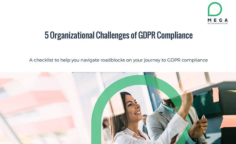 5 Organizational Challenges of GDPR Compliance