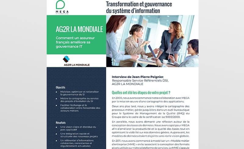 AG2R La Mondiale: Comment un assureur français améliore sa gouvernance IT