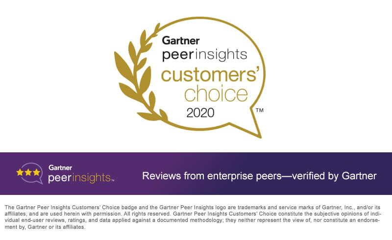 MEGA International reconnu « Customers' Choice » par le Gartner Peer Insights 2020 dans la catégorie outils d'architecture d'entreprise