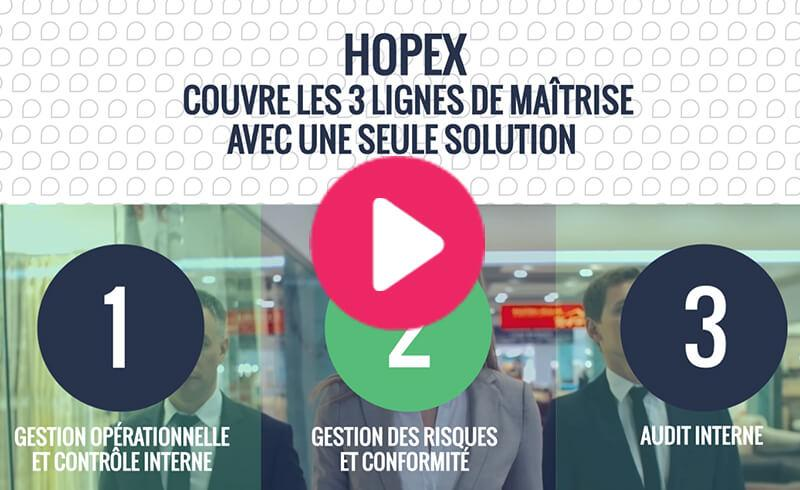 HOPEX | Les trois lignes de maîtrise