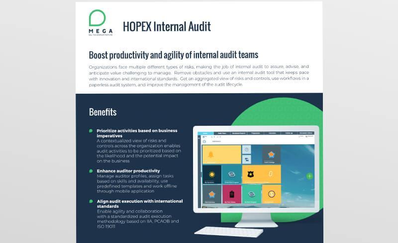HOPEX Internal Audit