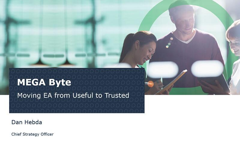 Move to a Trusted Enterprise Architecture Practice