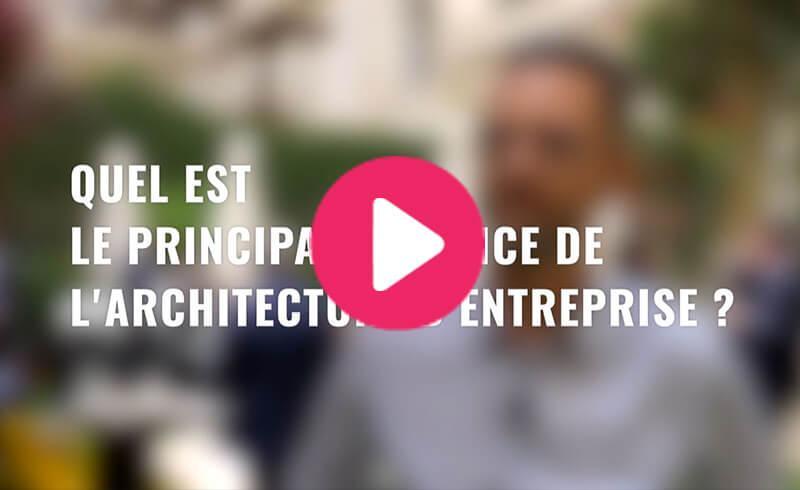 Quel est le principal bénéfice de l'architecture d'entreprise ?