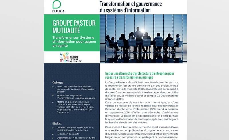 Pasteur Mutualité: Transformer son Système d'Information pour gagner en agilité