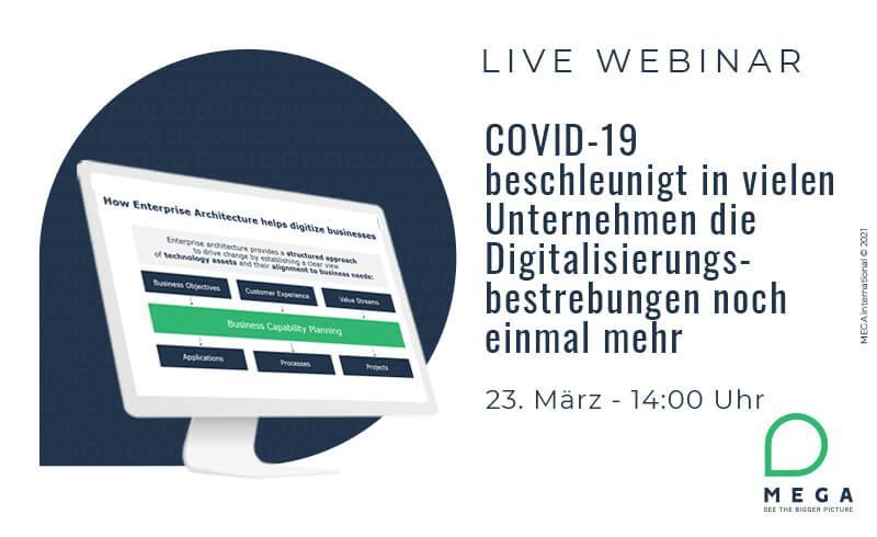 COVID-19 beschleunigt in vielen Unternehmen die Digitalisierungsbestrebungen