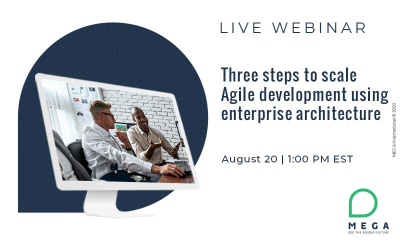 Three steps to scale Agile development using enterprise architecture
