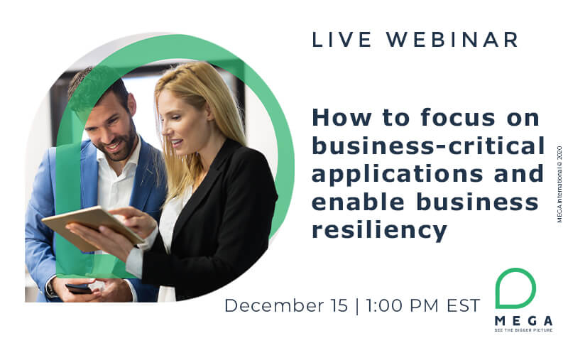 How to focus on business-critical applications and enable business resiliency