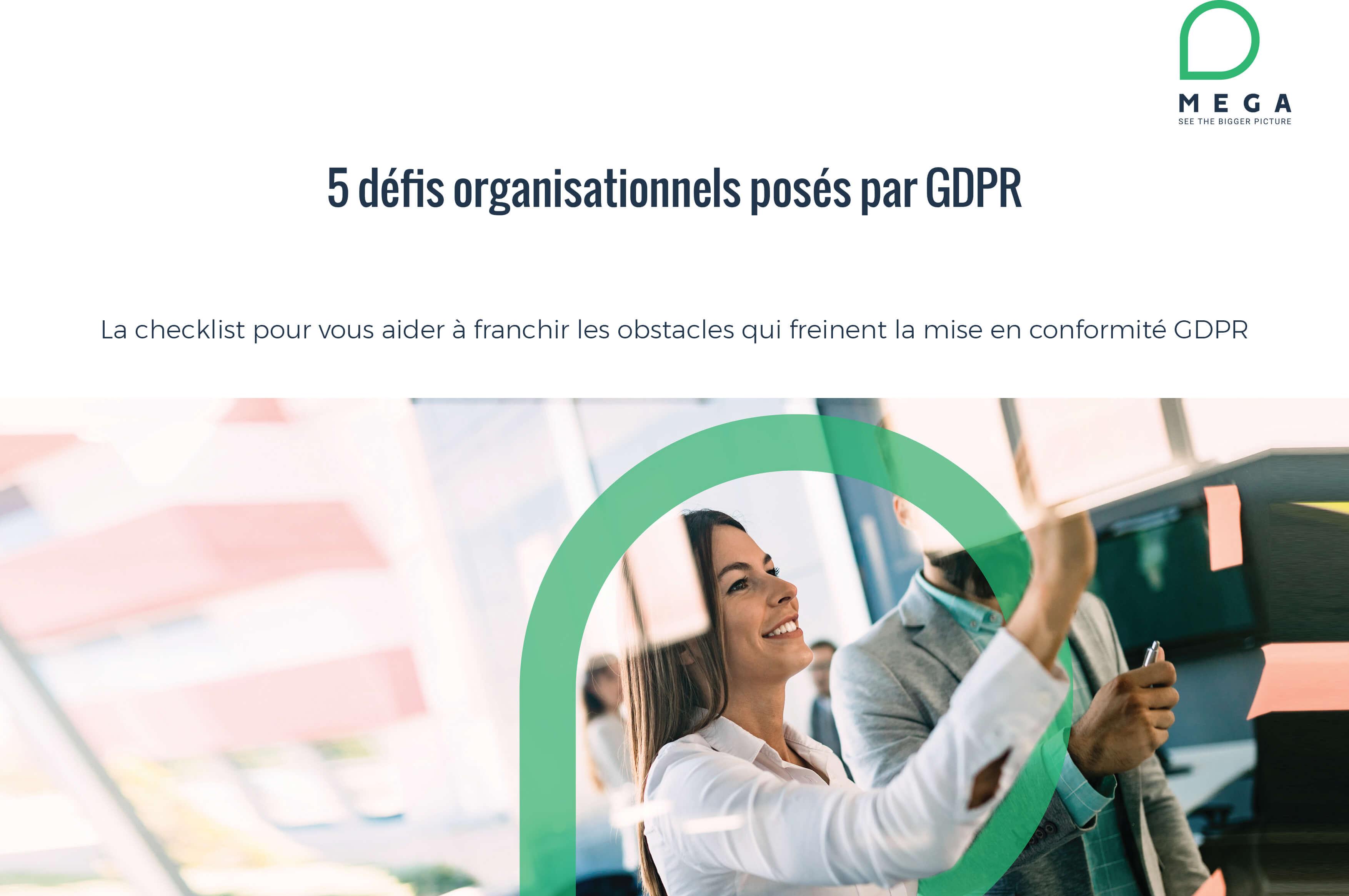 5 défis organisationnels posés par GDPR