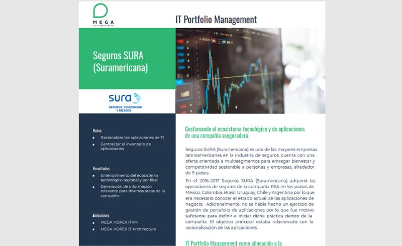 Seguros SURA: Gestionando el ecosistema tecnológico y de aplicaciones de una compañía aseguradora