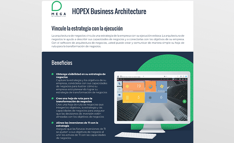 HOPEX Business Architecture