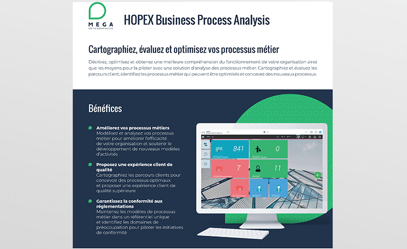 HOPEX Business Process Analysis