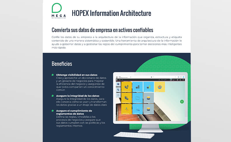 HOPEX Information Architecture