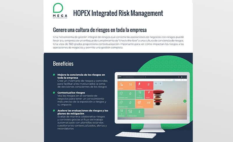 HOPEX Integrated Risk Management