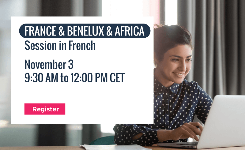 Enterprise Architecture Track | France & Benelux & Africa