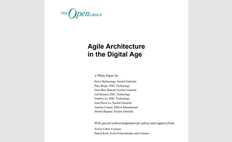 Architecture agile à l'ère digitale