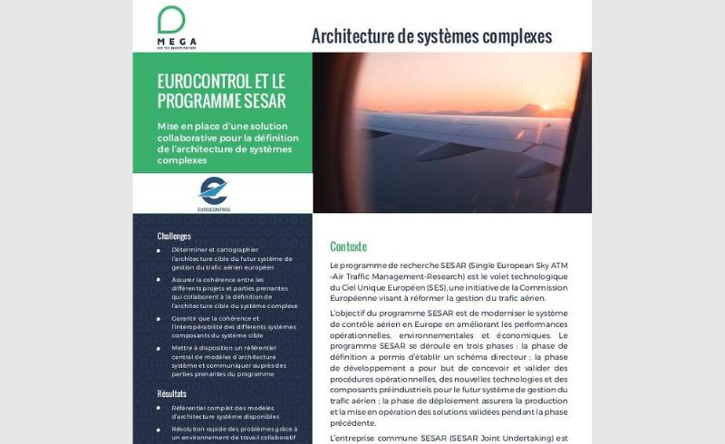 Eurocontrol et le Programme SESAR - Architecture de systèmes complexes