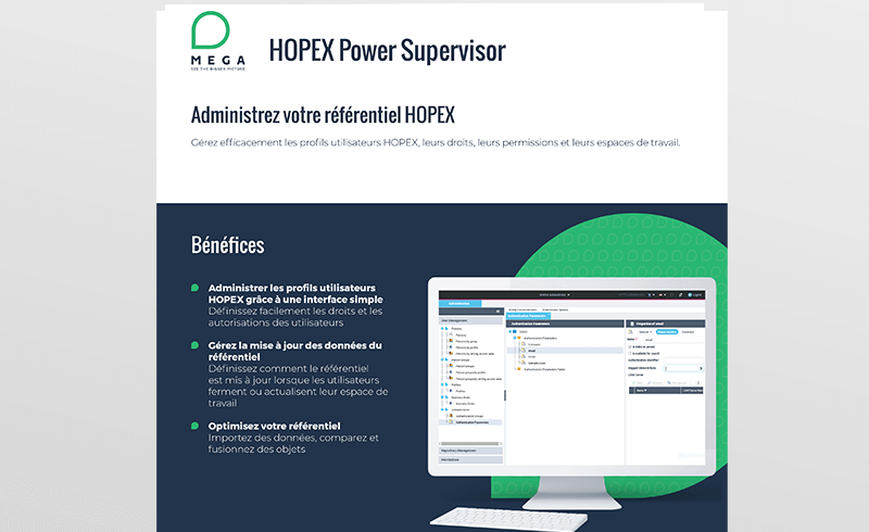 HOPEX Power Supervisor