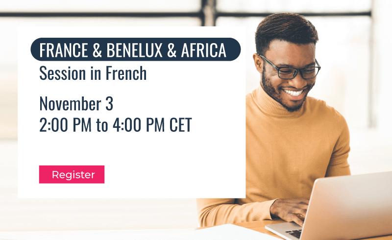 Governance, Risk & Compliance Track | France & Benelux & Africa