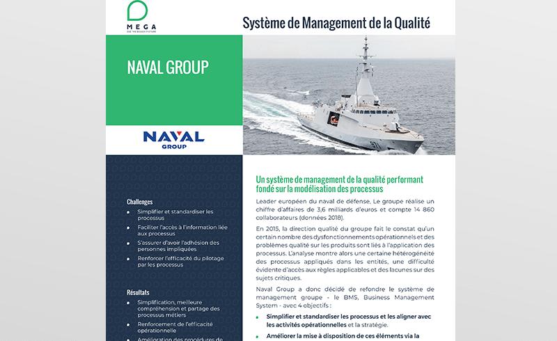 Naval Group : un système de management de la qualité fondé sur la modélisation des processus