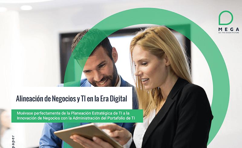 Alinee negocio y TI en la era digital